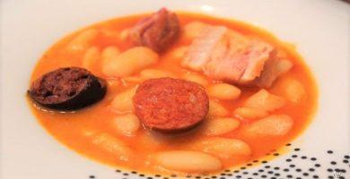 cocinar fabada asturiana en olla express a presion